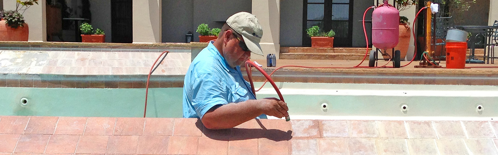 Pool Tile Restoration