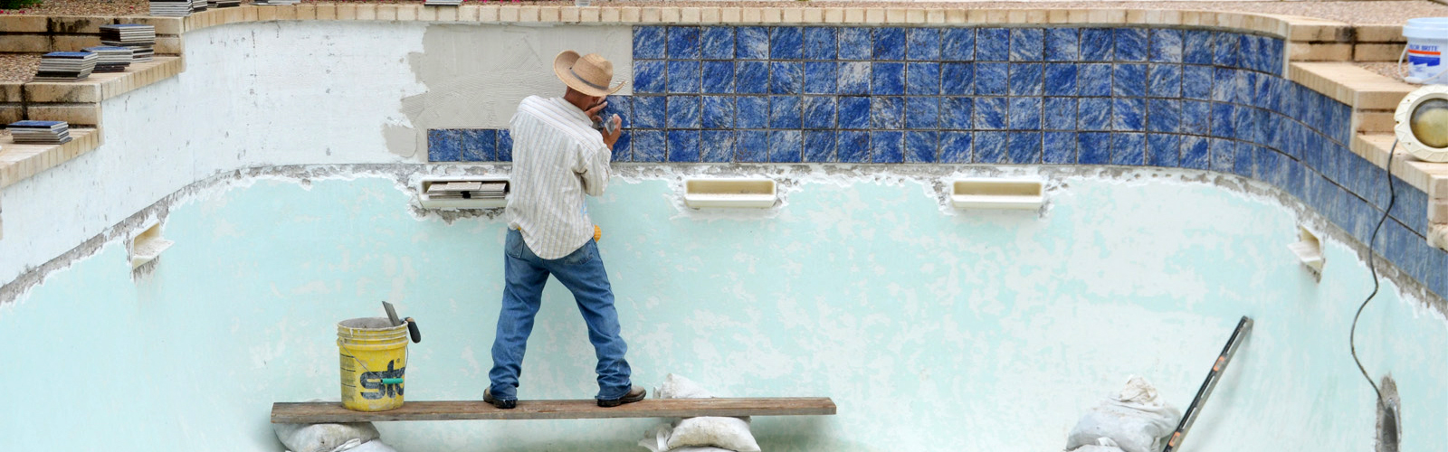 Pool Tile Replacement